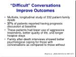 difficult conversations improve outcomes