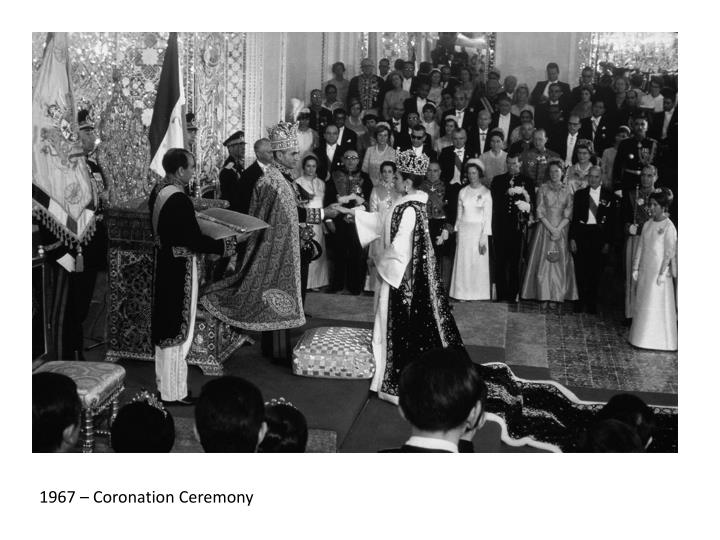 1967 – Coronation Ceremony
