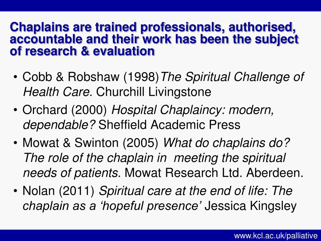 PPT - Wellness, wholeness and spiritual care PowerPoint