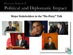 outcome analysis ii political and diplomatic impact2