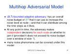 multihop adversarial model