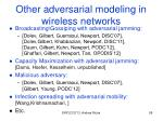 other adversarial modeling in wireless networks2