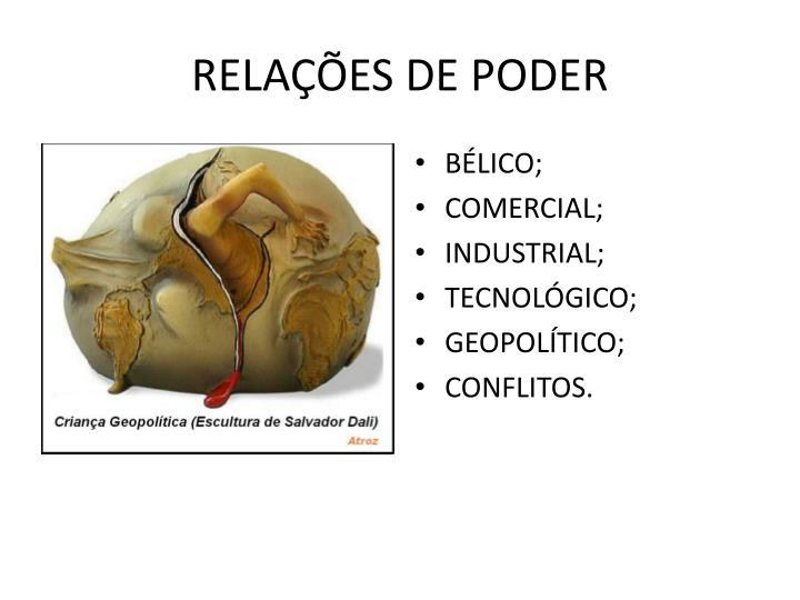 RELAÇÕES DE PODER