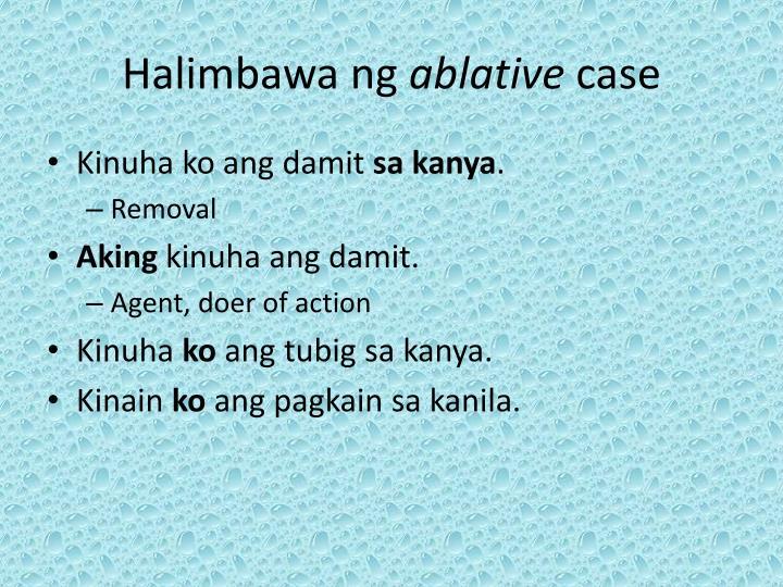 Halimbawa