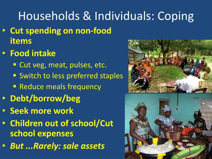 Households & Individuals: Coping