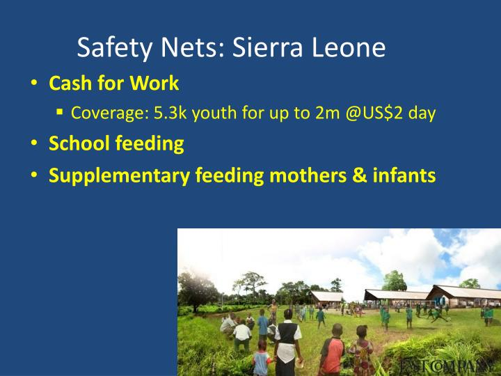 Safety Nets: Sierra Leone