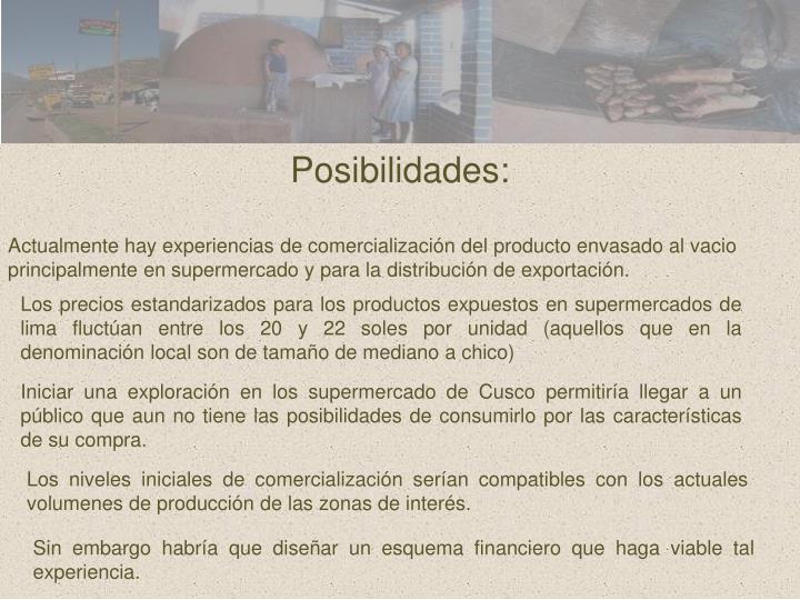 Posibilidades: