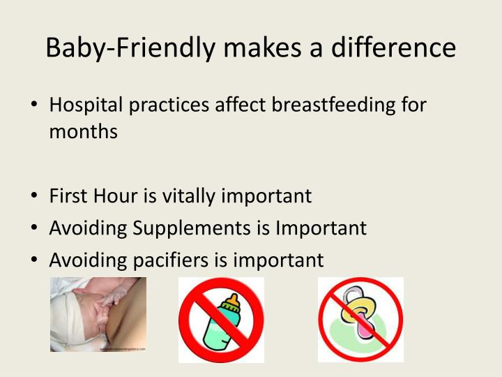 Baby-Friendly makes a difference