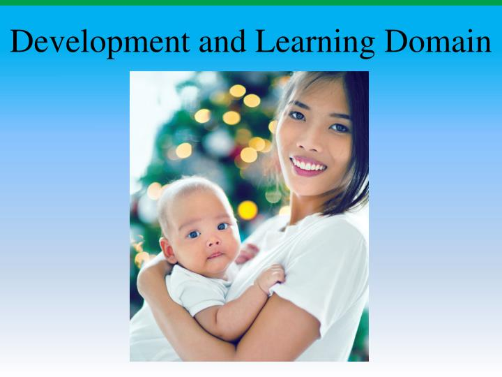 development and learning domain n.