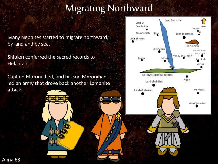 Migrating Northward
