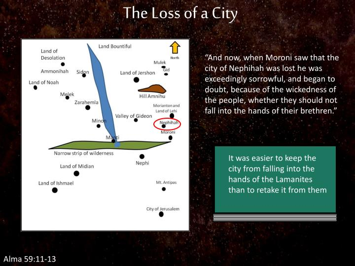The Loss of a City