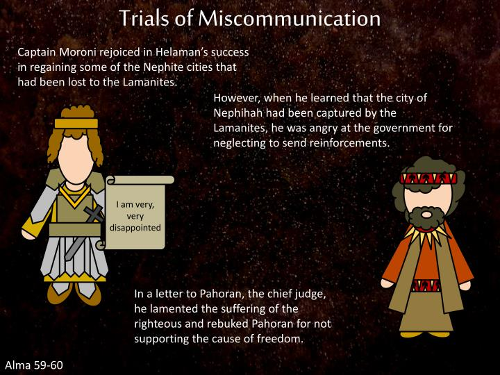 Trials of Miscommunication