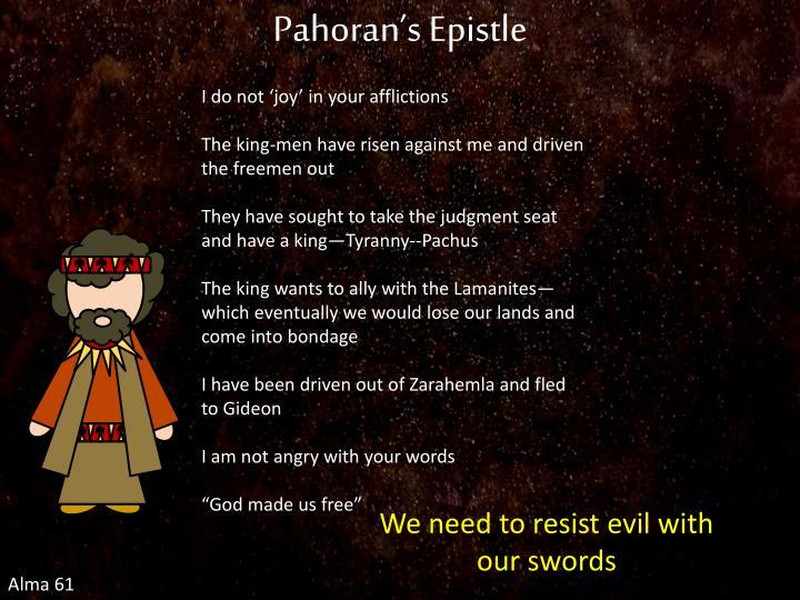 Pahoran's