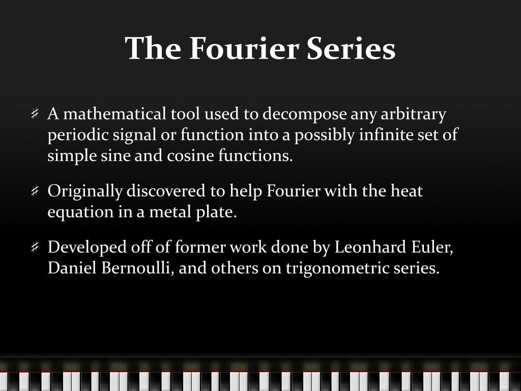PPT - Fourier Series Approximation GUI PowerPoint Presentation - ID