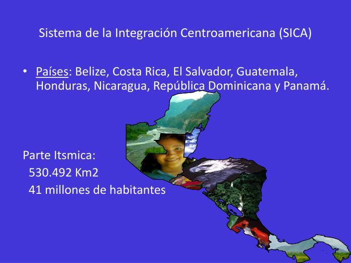Sistema de la integraci n centroamericana sica