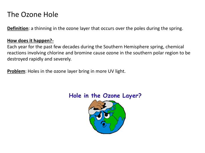 PPT - The ozone shield Ozone layer is an area in the ...
