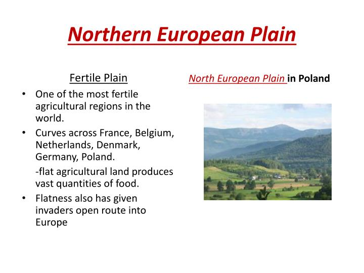 Northern European Plain