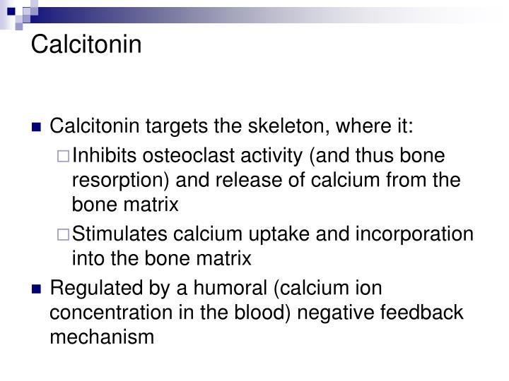 Calcitonin