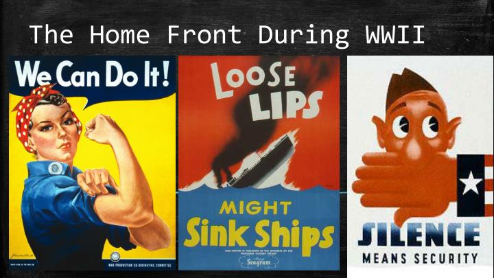 the home front during wwii n.