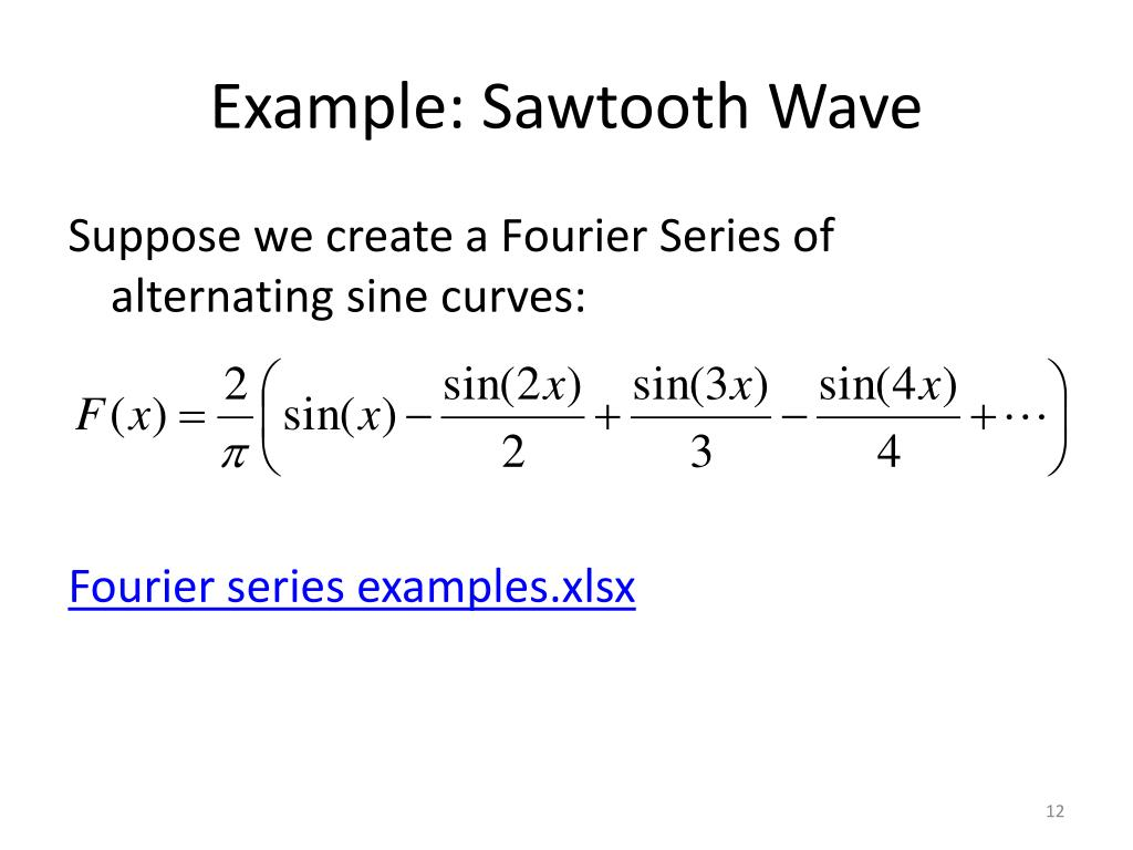 PPT - Fourier Series PowerPoint Presentation - ID:1951113