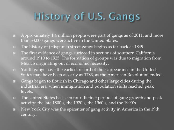 youth gangs and its activities Describing gang membership: an examination of youth gangs kiara c ross georgia gwinnett college introduction numerous studies have been conducted on the subject the purpose of a gang is to engage in criminal activity and which uses violence or intimidation to further its criminal objectives.