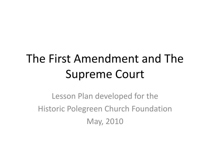 first amendment issue The first amendment to the united states consitition reads as follows: amendment i congress shall make no law respecting an establishment of religion, or prohibiting the free exercise thereof or abridging the freedom of speech, or of the press or the right of the people peaceably to assemble, and to petition the government for a redress of grievances.