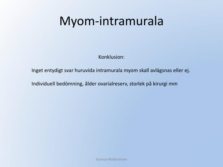 Myom-intramurala
