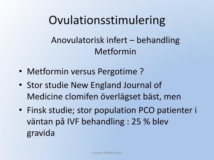 Ovulationsstimulering
