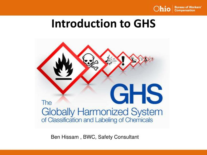 Introduction to ghs