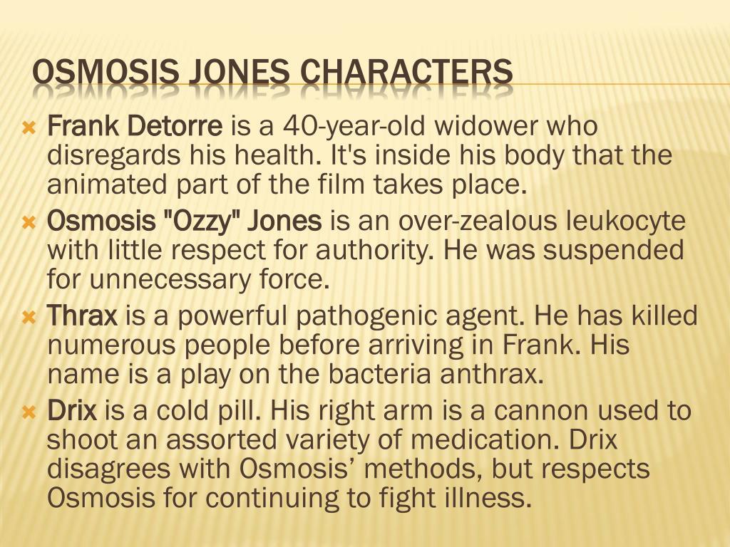Osmosis Jones Bacteria Characters Www Topsimages Com