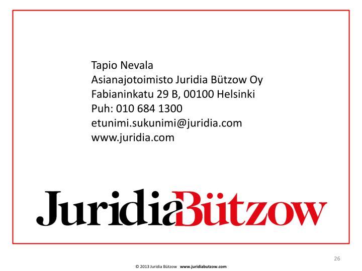Tapio Nevala