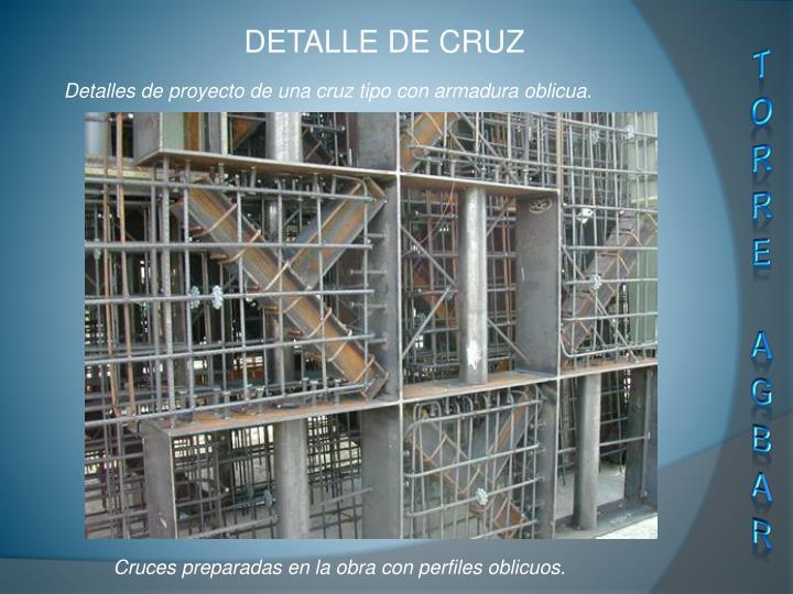 DETALLE DE CRUZ