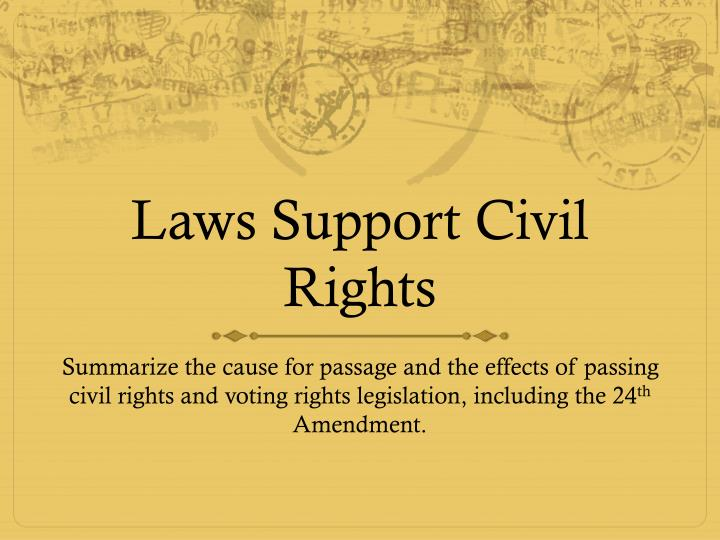 the effects of the civil rights World war ii had a minute effect on the civil rights movement in the united states during the war, however, created a movement for change once the war was over this set the stage for the advancement of the civil rights movement after world war ii.