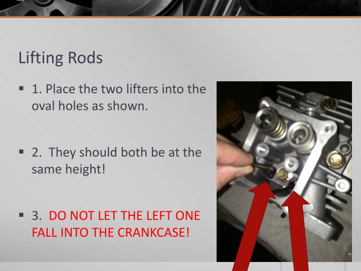 Lifting Rods