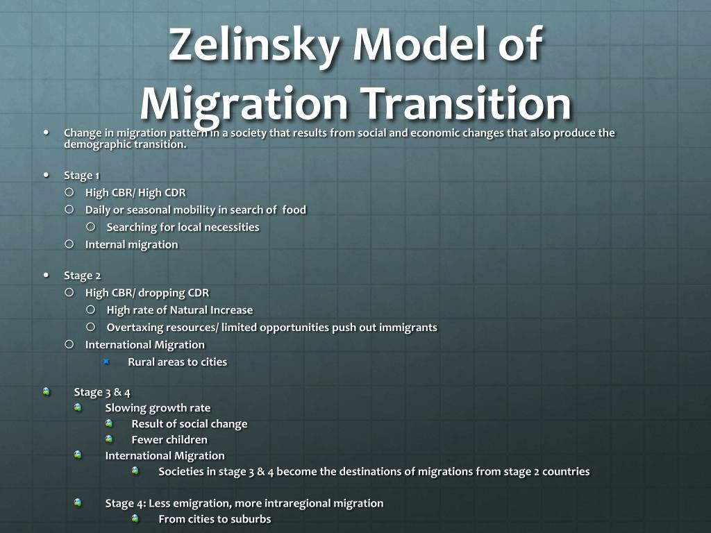 Ppt Chapter 3 Migration Powerpoint Presentation Free Download Id 1952795