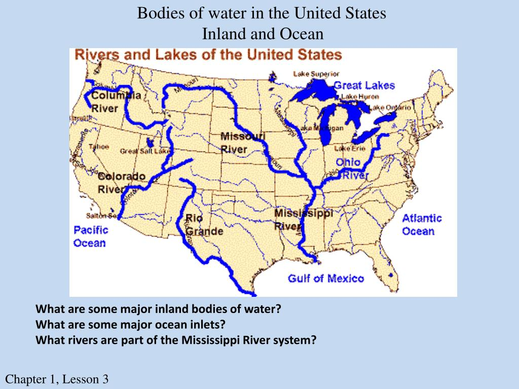 PPT - Bodies of Water PowerPoint Presentation, free download ...