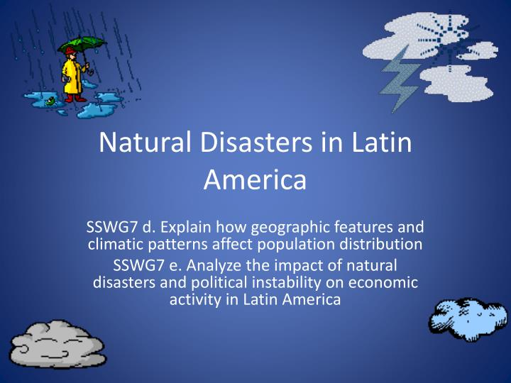 social and economic impact of natural disaster in the caribbean Hazard mitigation planning: natural hazards in the caribbean 3 - hydrostatic/dynamic forces and the effects of water lifting and carrying objects.