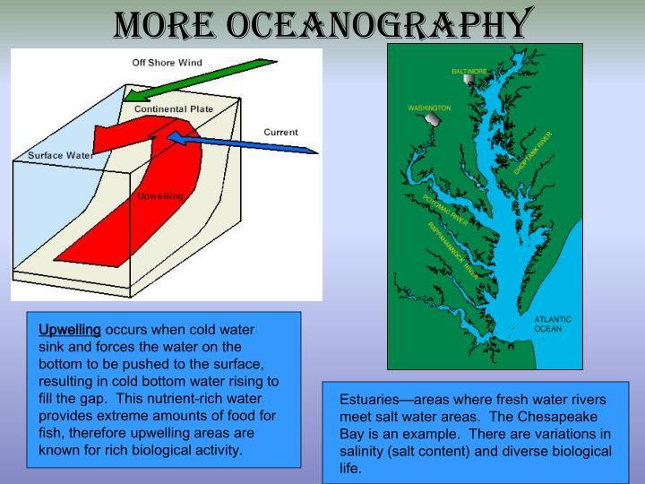 More Oceanography