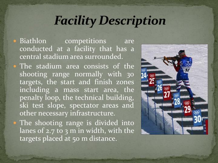 Facility Description