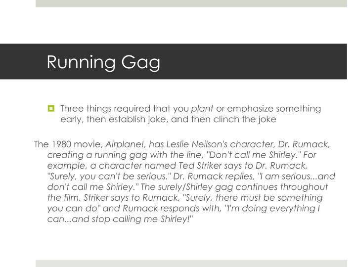 Running Gag