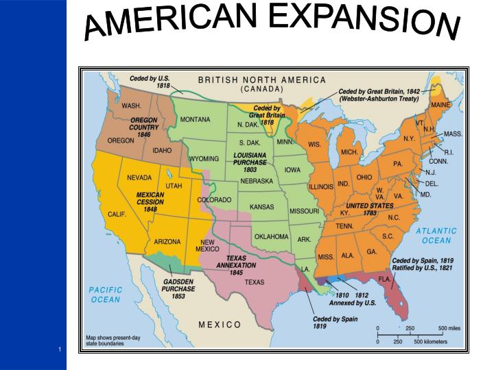 PPT AMERICAN EXPANSION PowerPoint Presentation ID1953621
