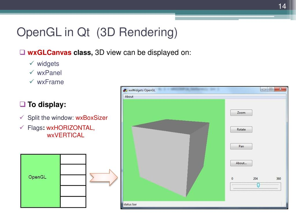 PPT - Cross-platform GUI Frameworks for 3D Apps and Games: Qt vs
