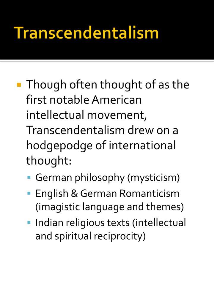 Transcendentalism1
