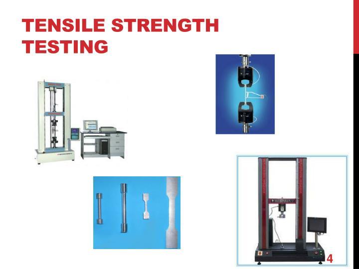 tensile strength testing