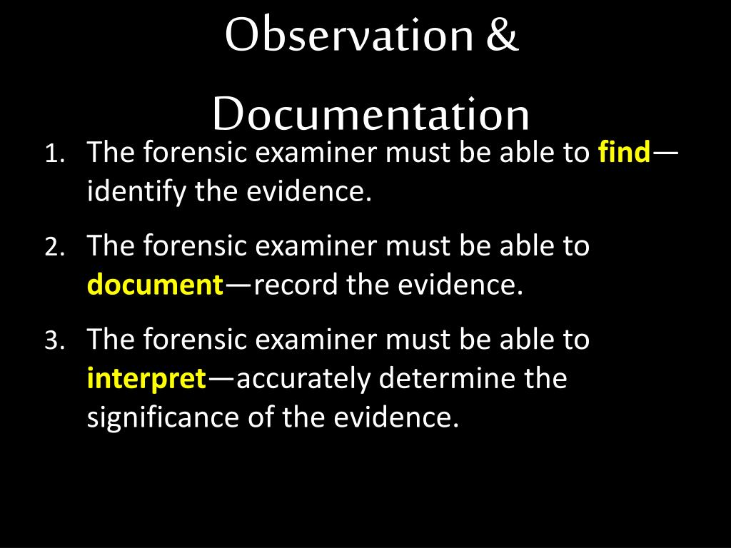 Ppt Observation Documentation Powerpoint Presentation Free Download Id 1954197