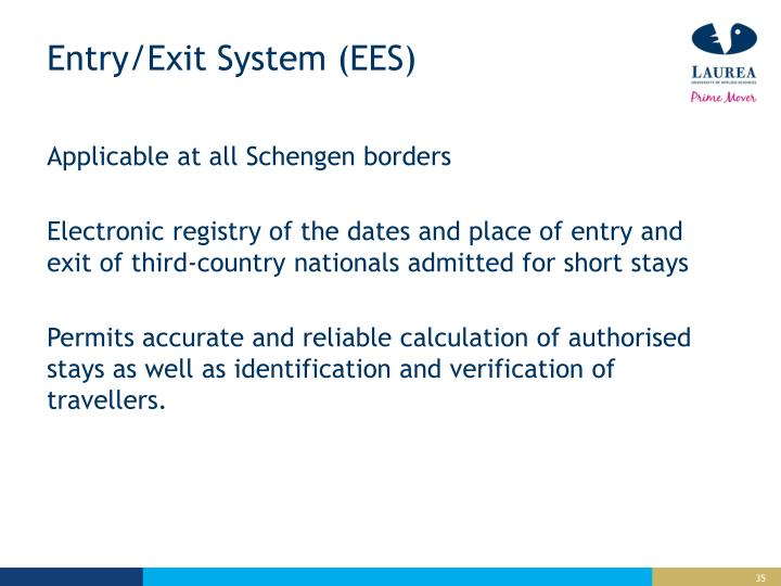 Entry/Exit System (EES)