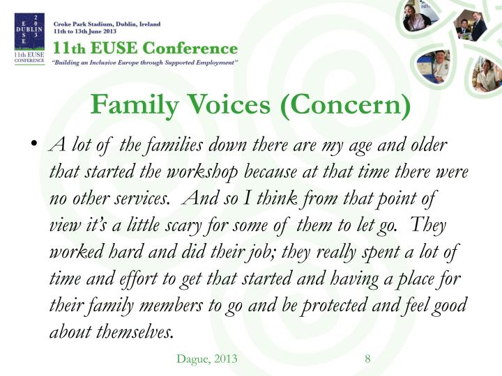 Family Voices (Concern)