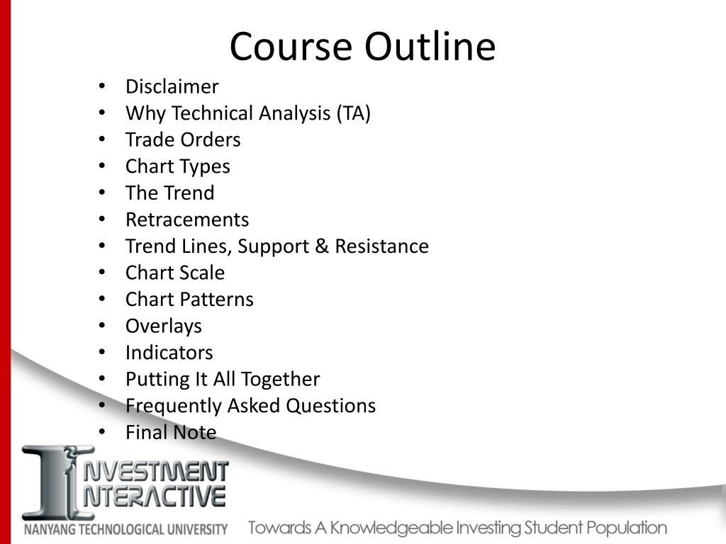 PPT - Technical Analysis and Trading PowerPoint Presentation