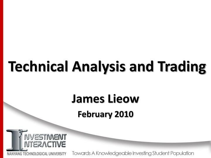 technical analysis and trading n.