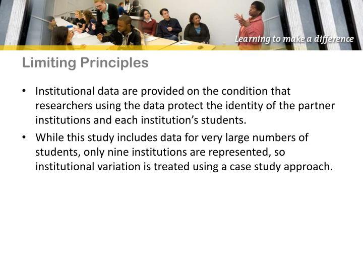 Limiting Principles